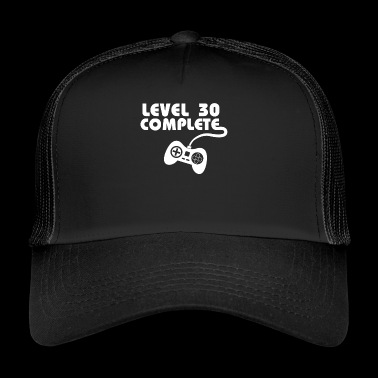 Gift for 30 year old gamer 30 years - Trucker Cap