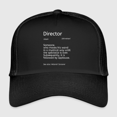 Conductor - Dictionary - Trucker Cap