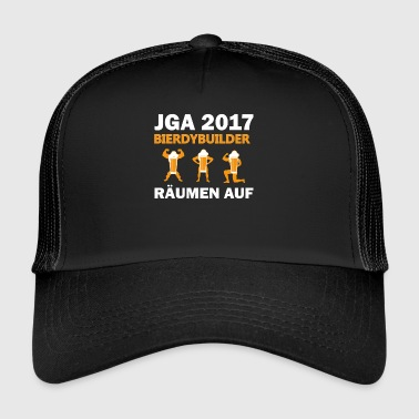Beer dude builder jga 2017 open up - Trucker Cap
