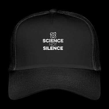 Science Not Silence With Atom Tee - Keep Earth - Trucker Cap