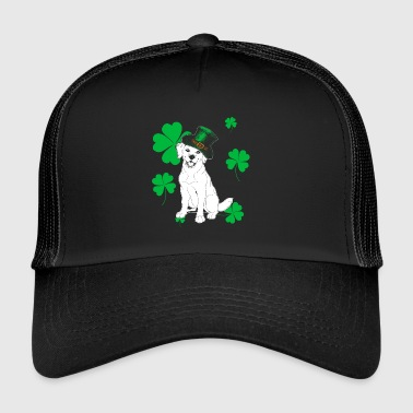Golden Retriever St. Patrick daggåva - Trucker Cap