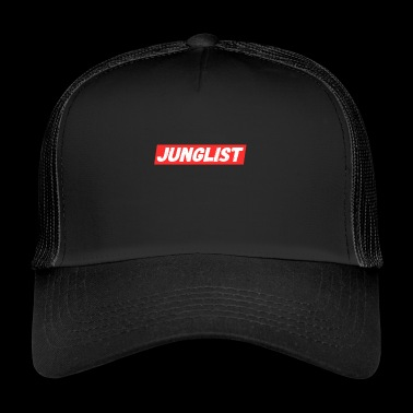 Junglist - Jungle Drum and Bass DnB Geschenk - Trucker Cap