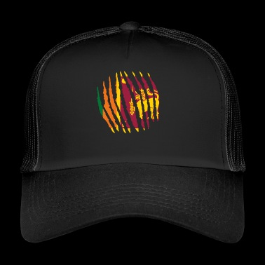 Claw Claw Homeland Origin Sri Lanka png - Trucker Cap