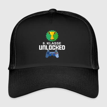 Nivå Olåst 8th grade Gamer Gaming Gift - Trucker Cap