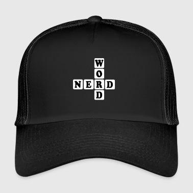 Word Nerd Word Game Gift - Trucker Cap