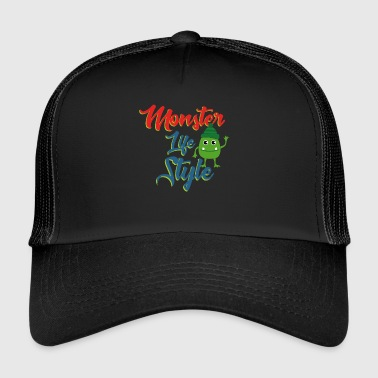 Monster Style - Trucker Cap