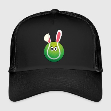 I love Tennis Tennis Ball Easter Gift - Trucker Cap