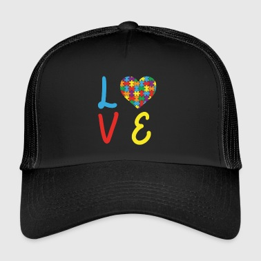 Love Autism Autism Awareness Day - Trucker Cap