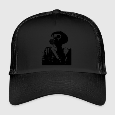 gas-mask - Trucker Cap