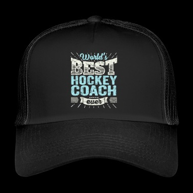 TOP Hockey Coach: Beste Bus van het hockey Ever - Trucker Cap