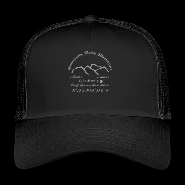 Canada Rocky Mountains - Trucker Cap
