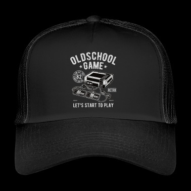 Oldschool Game - Video Game - Trucker Cap