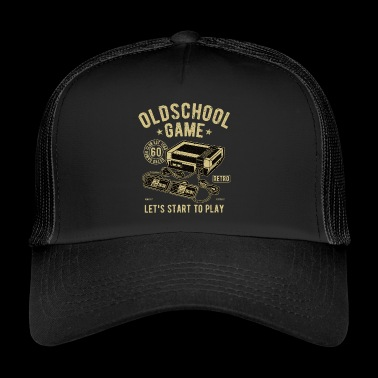 Oldschool Game Video Game - Trucker Cap
