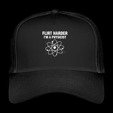 Flirt Harder - Trucker Cap