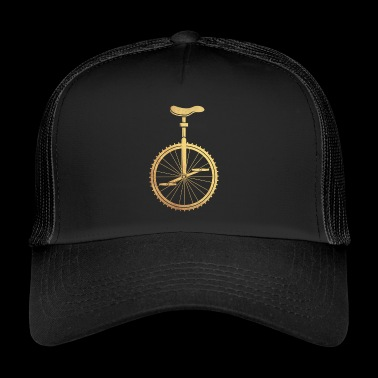 Gold unicycle - Trucker Cap