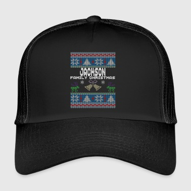 Ugly Jackson Christmas Family Vacation Tshirt - Trucker Cap