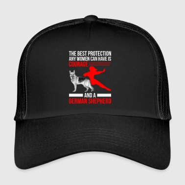 German Shepherd - German Shepherd - Poison - Trucker Cap