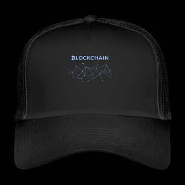 BLOCKCHAIN BITCOIN CRYPTOCURRENCY TECHNOLOGIE - Trucker Cap