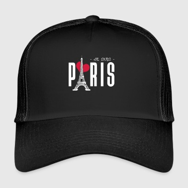 PARIS Je suis || I Love Paris - Trucker Cap