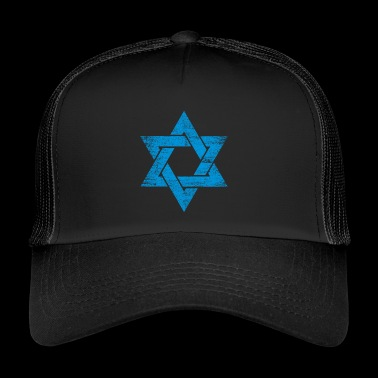 Star of Israel - Star of David gift - Trucker Cap