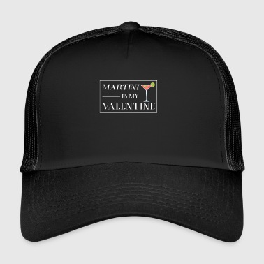 Martini Date gift for Martini Lovers - Trucker Cap