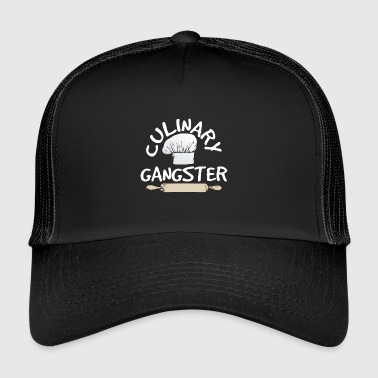 Chef Cook Gift Culinary Gangster - Trucker Cap