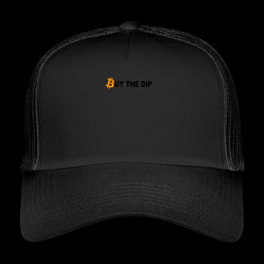 Buy The Dip Bitcoin - Trucker Cap