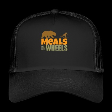 skateboard - meals on wheels - Gorra de camionero