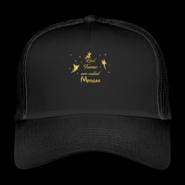 fee fairies fairy vorname name Morgan - Trucker Cap