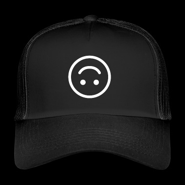 happy smiley happy happy emoji - Trucker Cap