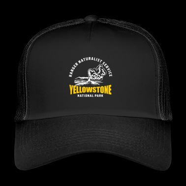 Parc national de Yellowstone Geyser Old Faithful - Trucker Cap