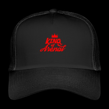 King of Arenal - rot - Trucker Cap