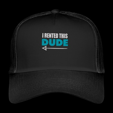 Jeg Leide Denne Dude With Arrow Funny Redneck Humor - Trucker Cap