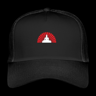 Sunrise Buddha gift for Buddhists - Trucker Cap