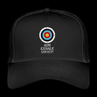 ARCHERY ARROW BOW ARCHERY GIFT - Trucker Cap