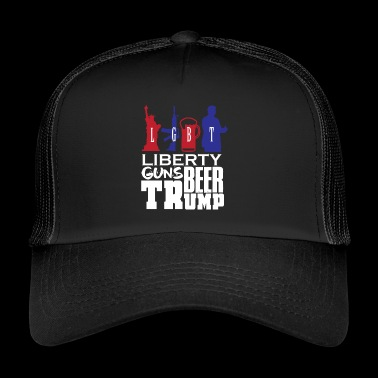 Trump politics - Trucker Cap