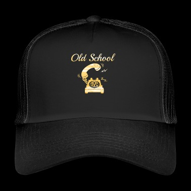 old school - Trucker Cap