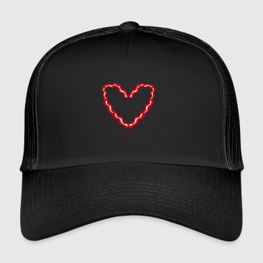 Bacon Heart - Gift - Overhemd - Trucker Cap