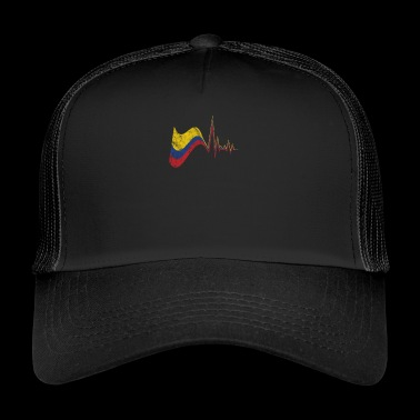 Colombia Flag Gift South America Spanish Country - Trucker Cap
