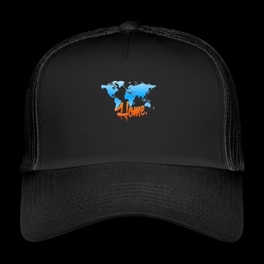 Mother Earth - Home Conservation - Trucker Cap
