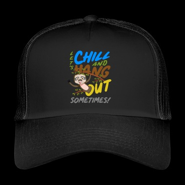 Chill out - relax - loungen - uitgaan - Trucker Cap