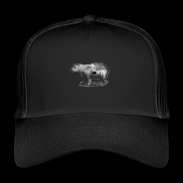 polar bears - Trucker Cap
