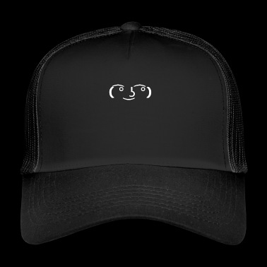 Funny meme face design - Trucker Cap