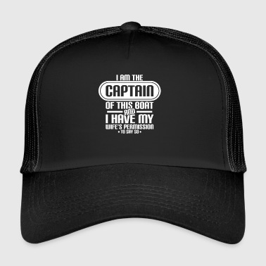 Captain, Husband - Trucker Cap