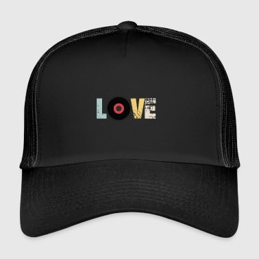 LOVE VINYL - Trucker Cap