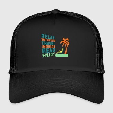Classic Retirement Retire Retirement Relax - Trucker Cap