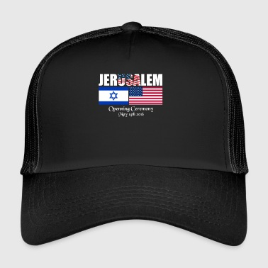 Embassy of the USA in Jerusalem. 2 - Trucker Cap