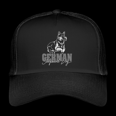TYSK SHEPHERD DOG hoppe Wilsigns - Trucker Cap