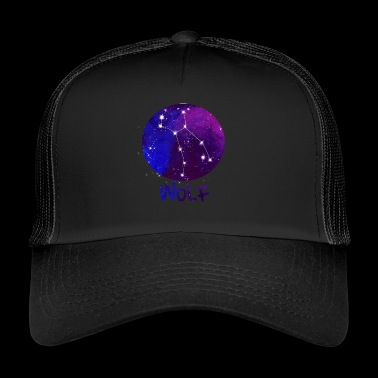 Constellation Wolf - Trucker Cap