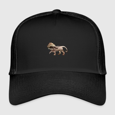 Lion Africa Savanna Shirt - Trucker Cap